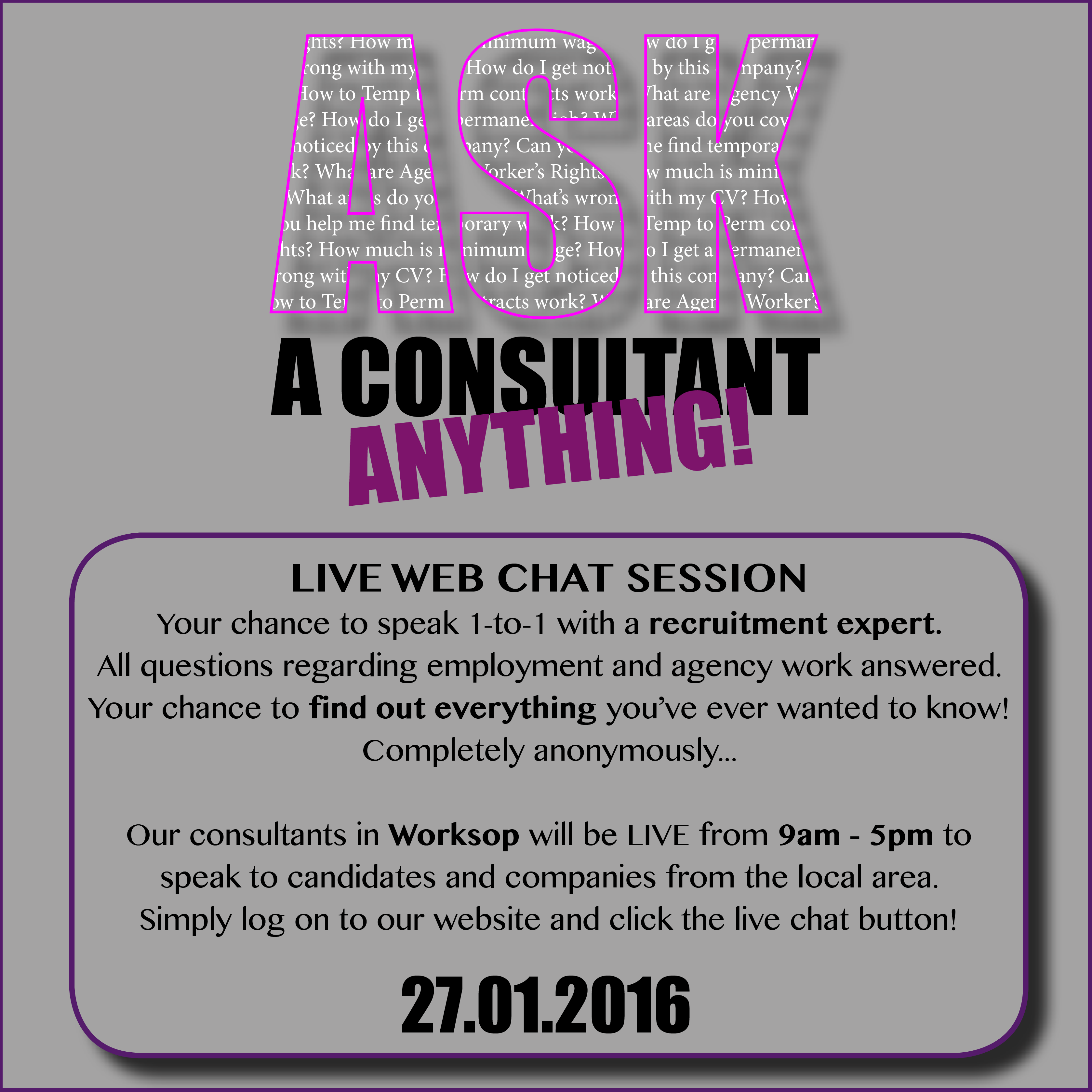 Ask Consultant Workssop