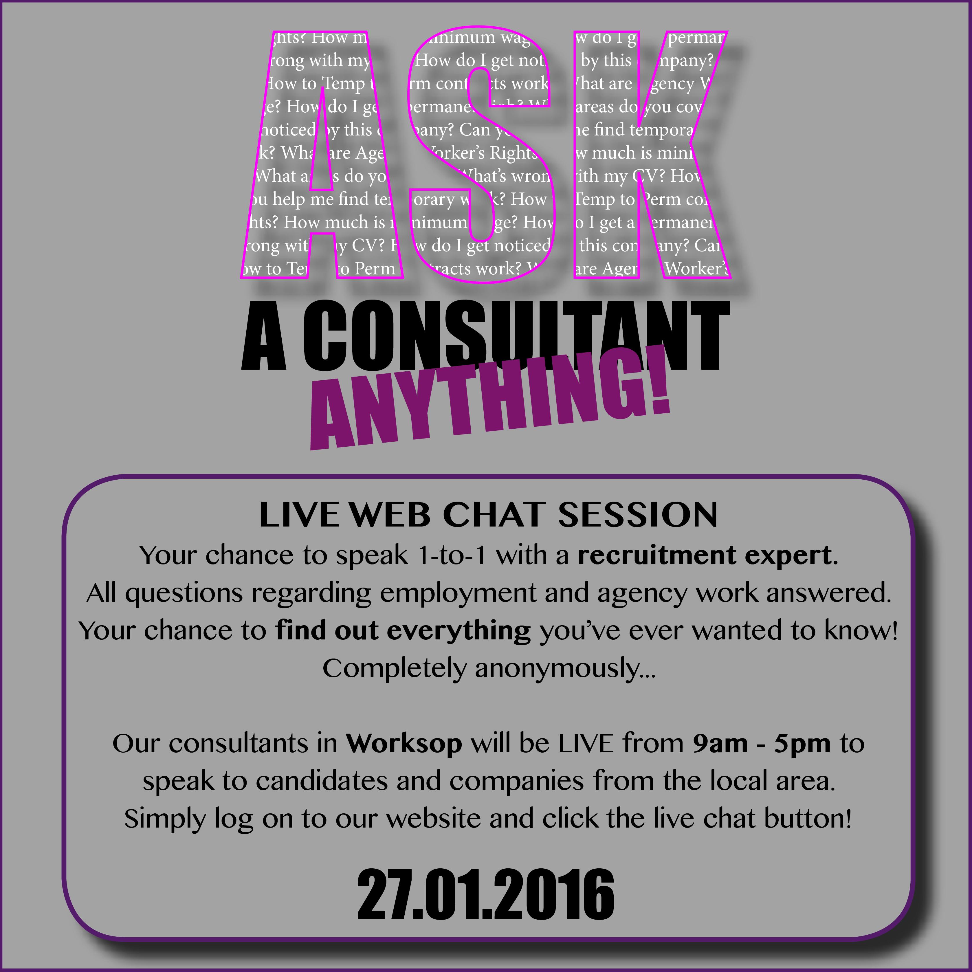 Ask Consultant Workssop
