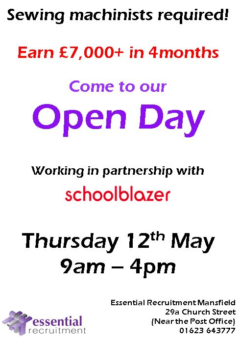 schoolblazer open day