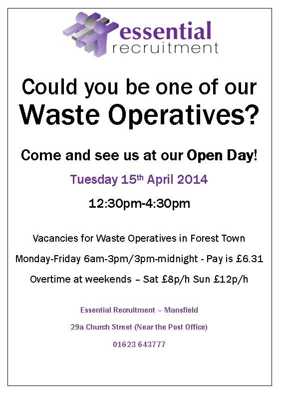 waste op open day